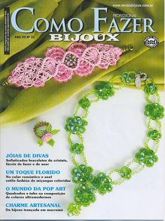 Lo Scrigno dei Segreti: Como fazer bijoux nr.32
