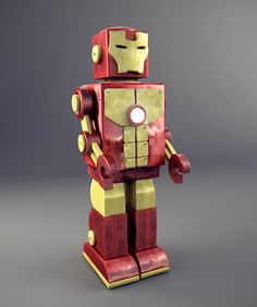 Ironman Toy 3D model