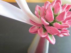 Polymer clay flower photo tutorial