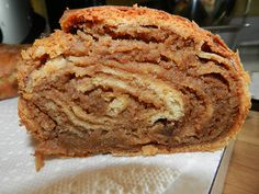 There is no recipe given. But the pictures depict how this marvelous bread is traditionally made. On a sheet with family! Our family recipe includes golden raisins in the filling. Slovak Recipes, Hungarian Recipes, Russian Recipes, Cookie Recipes, Dessert Recipes, Desserts, Bakery Recipes, Bread Recipes, Croissants