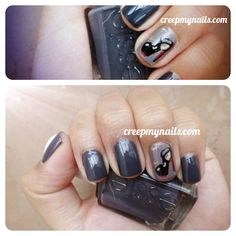 Love these Christian Louboutin Inspired Nails. <3