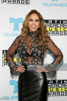Lucero Hogaza Leon aka Lucero attends Telemundo's Latin American Music Awards Press Conference With Lucero at Dolby Theatre on October 6, 2015 in Hollywood, California.
