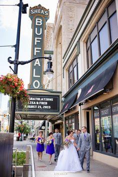 Lafayette Hotel Greenhouse Room Buffalo Wedding Photography