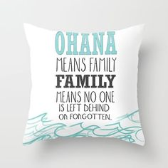lilo and stitch nursery | ohana means family.. lilo and stitch disney... Throw Pillow by ...