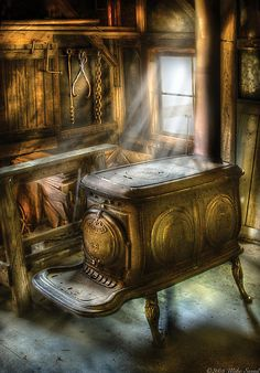 mike savad paintings   Mike Savad › Portfolio › A warm cozy stove