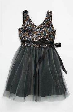 Un Deux Trois Sequin Dress (Big Girls) available at #Nordstrom