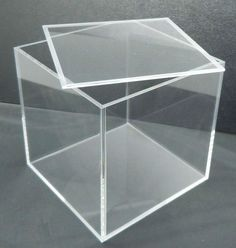 Simple wood Box With Lid - Clear Acrylic Rectangle Storage Display Box With Lid Buy Clear Acrylic Display Box With Lid,Clear Acrylic Rectangle Storage Box With Lid,Acrylic Box With Lid Product on Alibaba com Glass Display Box, Glass Boxes, Display Boxes, Storage Boxes With Lids, Cube Storage, Storage Containers, Acrylic Sheets, Acrylic Box, Clear Acrylic