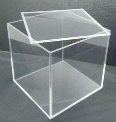 Clear Acrylic Box With Lid - Buy Plexiglass Display Box,Acrylic ...