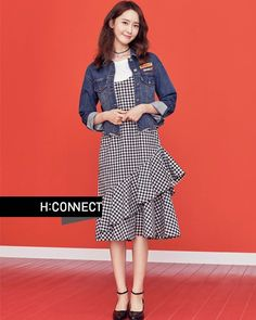 YoonA Shows Her Impeccable Style with 'H:Connect' Snsd Fashion, Korean Fashion, Fashion Models, Girl Fashion, Yuri, Girl's Generation, Ugly Outfits, Yoona Snsd, Vietnamese Dress