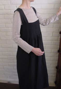 katagami/Patterns for ladie`s Apron、 Apron Dress
