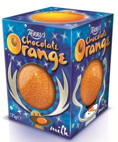 Terry's Chocolate Orange seasonal #packaging
