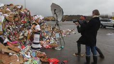 Shooting for PROJECT PRECIOUS TRASH with Tomas Björkdal and Fredrik Sederholm