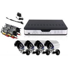 Zmodo PKD-DK0863-NHD 8 CH H.264 Surveillance DVR 4x Outdoor Night Vision Cameras w/ Bracket 4x Cable ***No Hard Drive *** by Zmodo. $178.68. Description:The kit PKD-DK0863-NHD includes an 8 CH H.264 standalone DVR and four indoor/outdoor night vision security cameras providing everything you need to have your surveillance system up and running in your home or business quickly and easily.The DVR-H9108V is an 8 channel, fully integrated, real time, and hardware based standalone ...