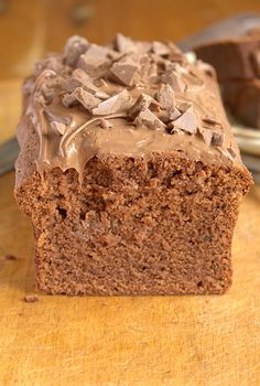 Terrys Double Chocolate Orange Loaf Cake - extra quick with the all in one method