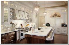 White Kitchen. Built in Fridge. Gorgeous Fridge!!!