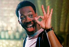 """Axel Foley (played by Eddie Murphy) from """"Beverly Hills Cop""""  (1984)"""
