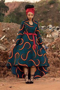 Wide Ankara dress magical design - African Fashion Dresses - Maria D. African Fashion Designers, African Fashion Ankara, African Inspired Fashion, Latest African Fashion Dresses, African Print Fashion, Africa Fashion, African Prints, Dress Fashion, African Style