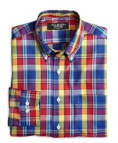 a7e37c08b4a6 Blue-Red Slim Fit Large Plaid  67 Mens Flannel
