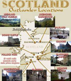 Outlander - La serie di Diana Gabaldon: I luoghi di Outlanders added to list Scotland Vacation, Scotland Travel, Ireland Travel, Scotland Trip, Scotland History, Scotland Tours, Diana Gabaldon Outlander Series, Outlander Book Series, Diana Gabaldon Books