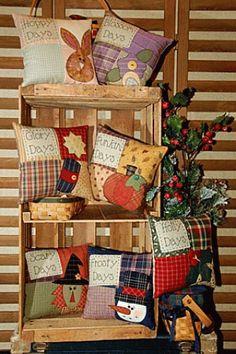 PatternMart.com ::. PatternMart: Seasonal Days Little Pillows