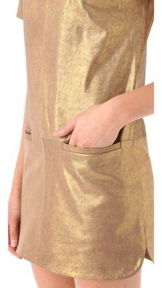 Rebecca Minkoff Rick Leather Dress