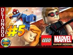 LEGO Marvel Super Heroes Parte #5 Oscorp Walkthrough