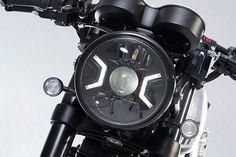 """T-Race 1200"" Triumph Thruxton R - Städler Motos - Pipeburn.com Triumph Motorcycles, Custom Motorcycles, Custom Bikes, Cafe Racer Seat, T Race, Cafe Racing, Moto Bike, Black Wheels, Bike Wheel"
