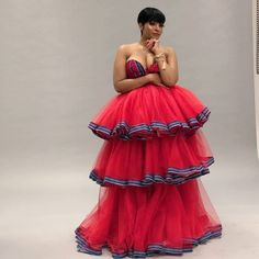 24 Latest Ankara Styles For Work, Church, Party and Engagement 2020 - Women's fashion interests Venda Traditional Attire, Sepedi Traditional Dresses, African Traditional Wedding Dress, African Fashion Traditional, Traditional Wedding Attire, Wedding Dresses South Africa, African Wedding Attire, African Attire, African Dress