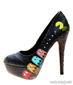 i would totally wear these...coolest shoes ever!