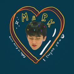 Nct 127, Kids Diary, Dream Chaser, Mark Nct, Bae, K Idol, Cute Stickers, Boyfriend Material, Jaehyun