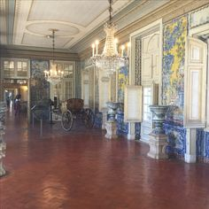 One of the rooms in the Queluz Palace - about 15 minutes outside Lisbon