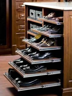 Furniture: Pull Out Shoe Rack Smart Wardrobe Accessories Pull Out Strong Style C