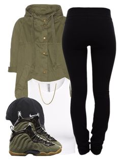 """""""2/13/16"""" by clickk-mee ❤ liked on Polyvore featuring Current/Elliott, H&M, NIKE, Helmut Lang, women's clothing, women, female, woman, misses and juniors"""
