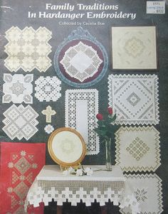 Shop for on Etsy, the place to express your creativity through the buying and selling of handmade and vintage goods. Hardanger Embroidery, Embroidery Patterns, Family Traditions, Needlework, Elsa, Chart, Traditional, Stitch, Type