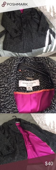 Maternity tweed jacket Adorable Liz Lange target maternity jacket in excellent condition warm and flattering Liz Lange for Target Jackets & Coats