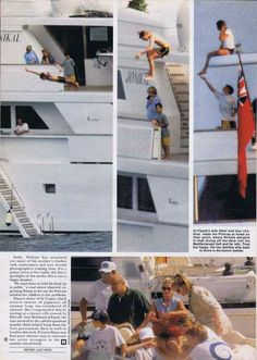 Diana's last holiday with her boys, 1997