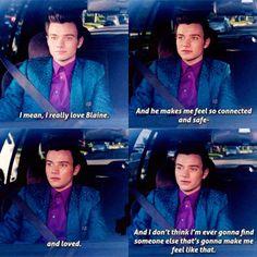 I really love Blaine ❤️