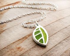 http://www.etsy.com/listing/62165330/tiny-green-leaf-necklace-concrete-and?ref=tre-2071601433-4      http://www.etsy.com/treasury/MTQzNzc4MzR8MjA3MTYwMTQzMw/springtime?index=1492
