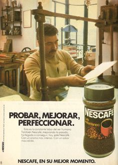 Café soluble Nescafé, 1979