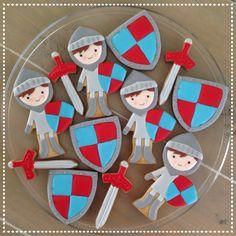 Knight cookies Ridder koekjes