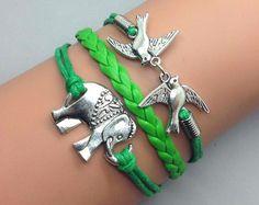 2013 New kommen Original Design Handmade Kaffee Farbe Pfeil und Bogen Armband Ring Set Hochzeit gift002