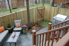 Small backyard spaces on DIY Network
