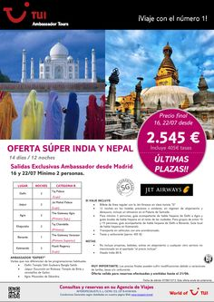 Oferta Súper India y Nepal ¡Últimas plazas! Precio final desde 2.545€ - http://zocotours.com/oferta-super-india-y-nepal-ultimas-plazas-precio-final-desde-2-545e-3/