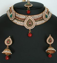 Indian bridal necklace set jewellery