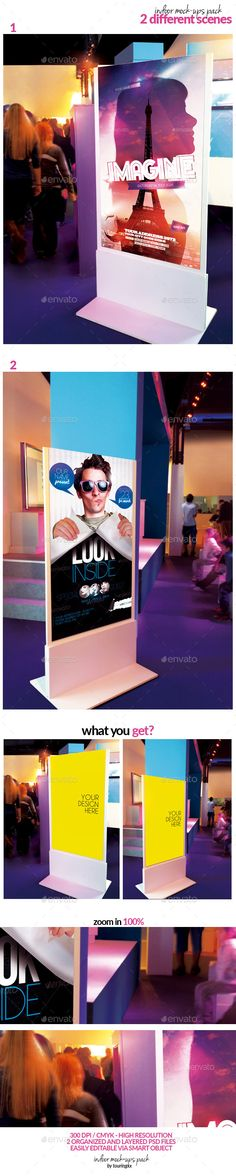 Indoor Mock-Ups Pack #design Download: http://graphicriver.net/item/indoor-mockups-pack/12792858?ref=ksioks