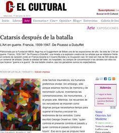 Picasso, Dubuffet, Guggenheim Bilbao, 2013, Art, France, Exhibitions, War, Art Background