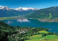 Zell am see, Austria. It's such a beautiful place but i haven't been there since I was 10, I need to go back
