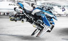 BMW Built a Flying Motorcycle Concept Based on a LEGO Kit