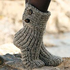 Moon Socks - Free Pattern