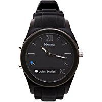 Martian Watches Notifier Smartwatch - Black >>> Click image for more details.